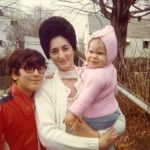 Children and Mother in 1972 (Happy Mother's Day)