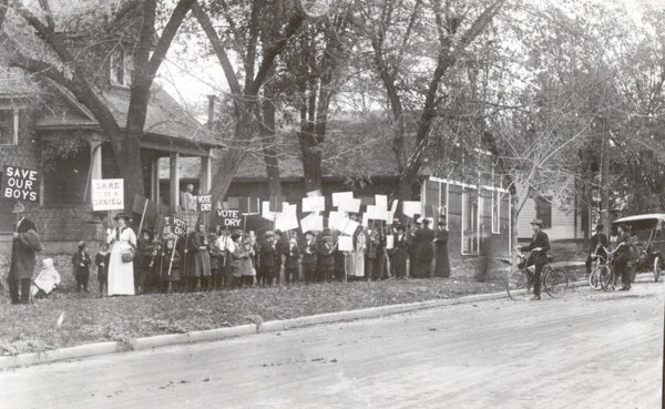 Nazarene Prohibition March c. 1910-1912 in Walla Walla Washington