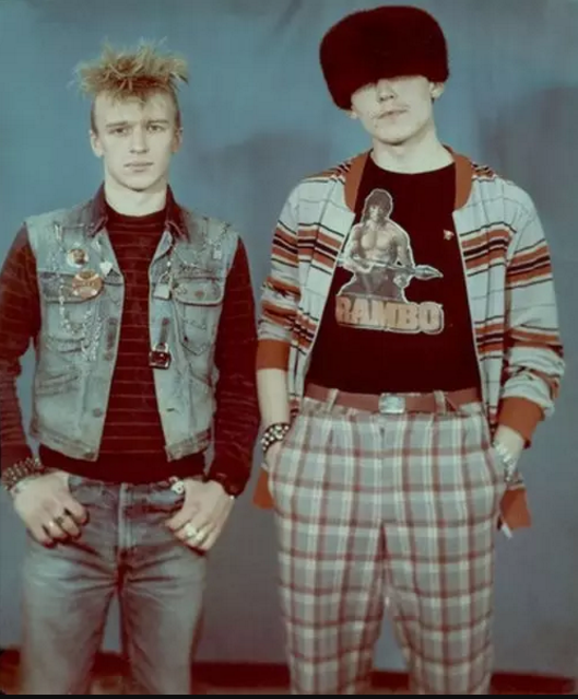 Soviet Punk Rockers, 1980s