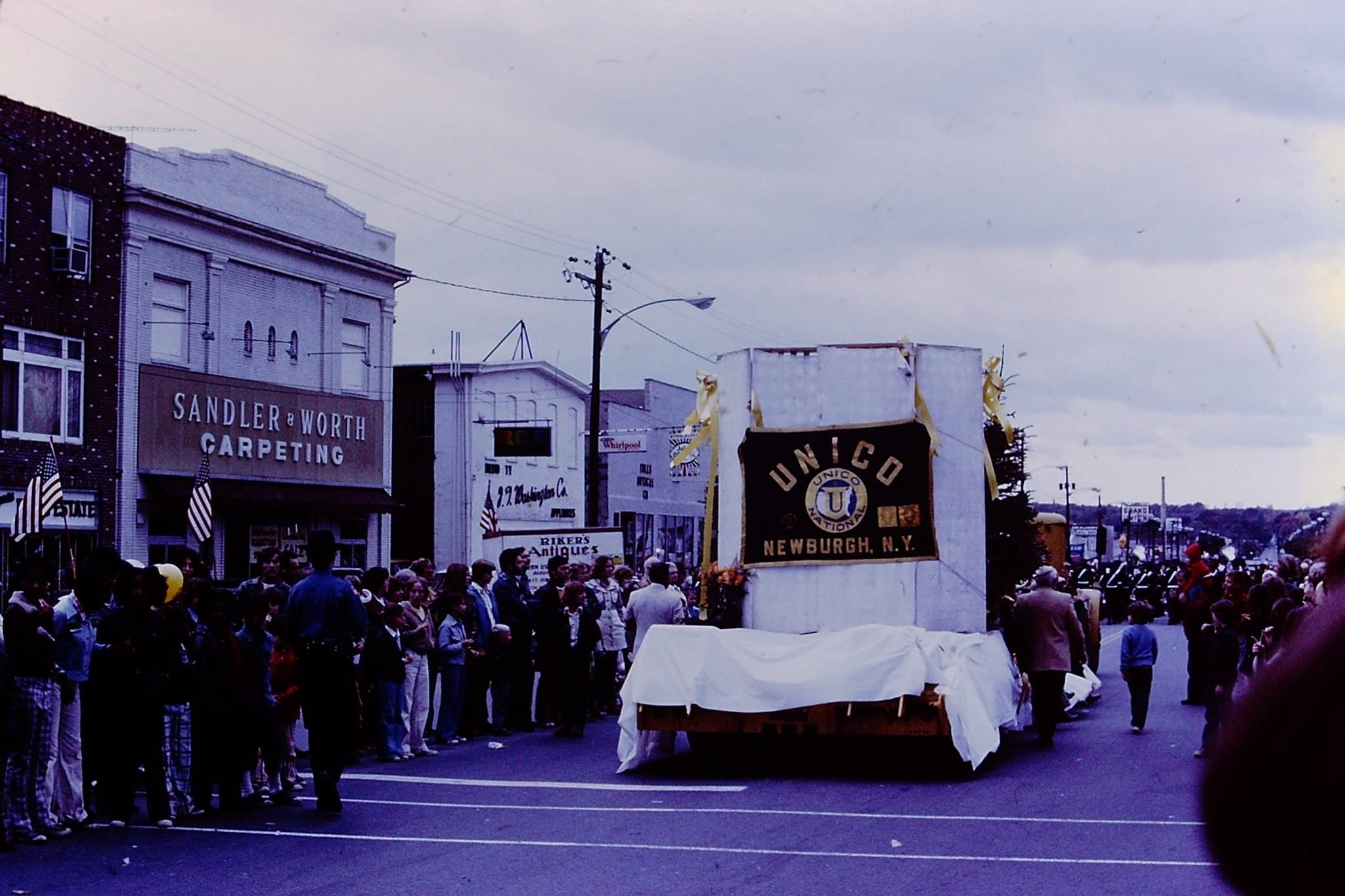 Smalltown Parade Newburgh New York 1975 Are You