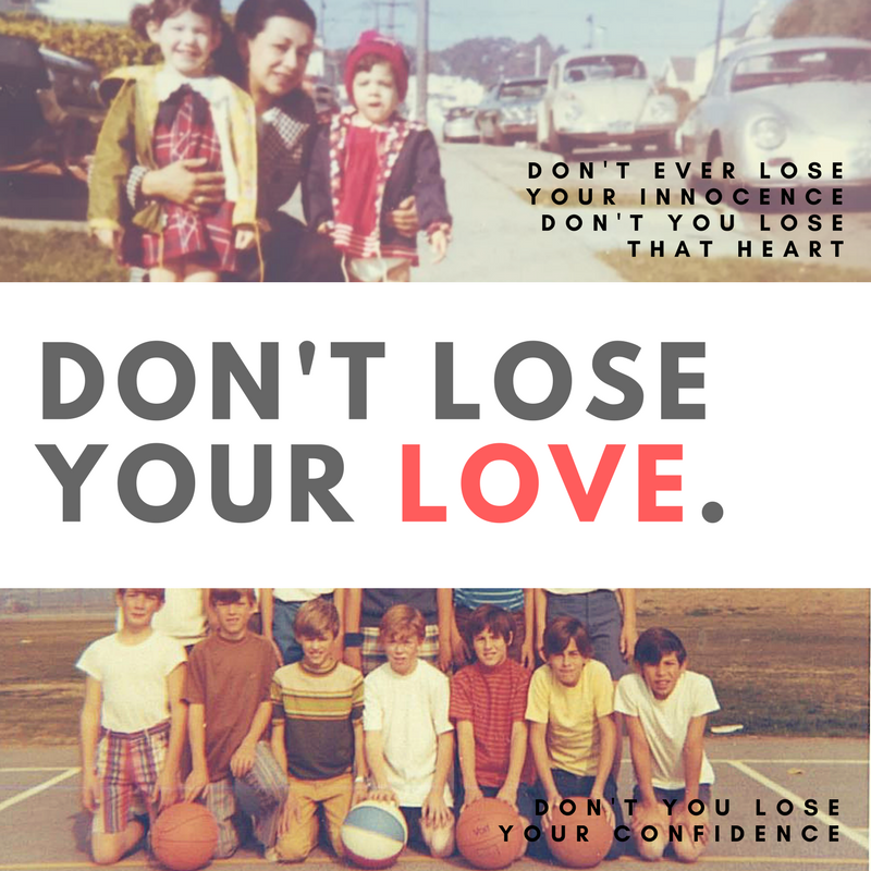Don't Lose Your Love