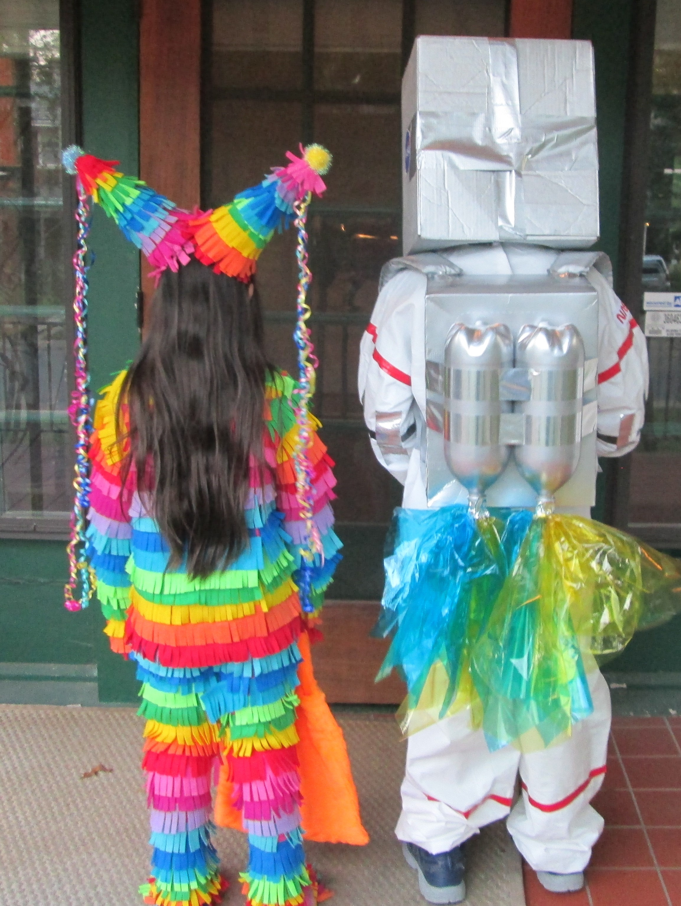 How to make a jet pack for an astronaut costume
