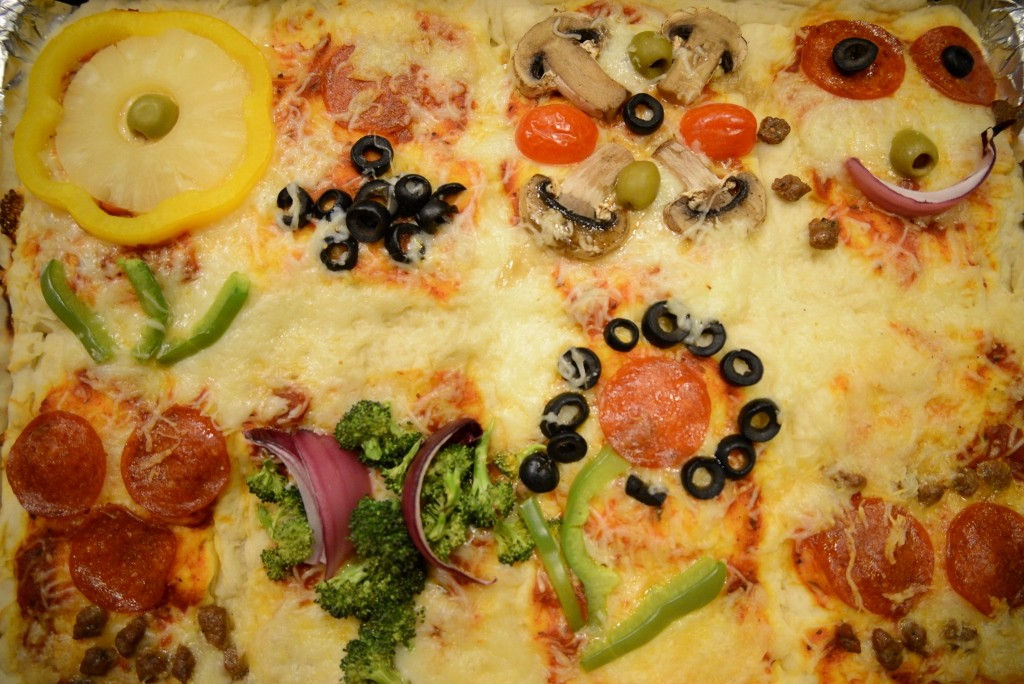 Pizza Quilt Pizza Quilt Ingredients Green Bell Peppers Pepperoni ...