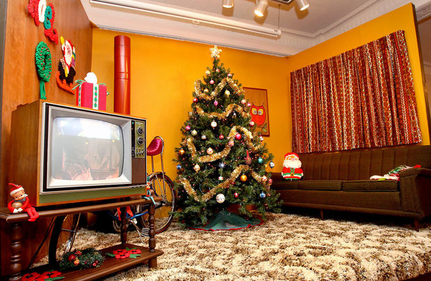 70s Christmas.A Very 1970s Christmas Exhibit Targets Generation X