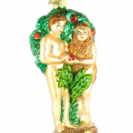 Old World Christmas Goes Super Old: Adam, Eve, Serpent Ornament
