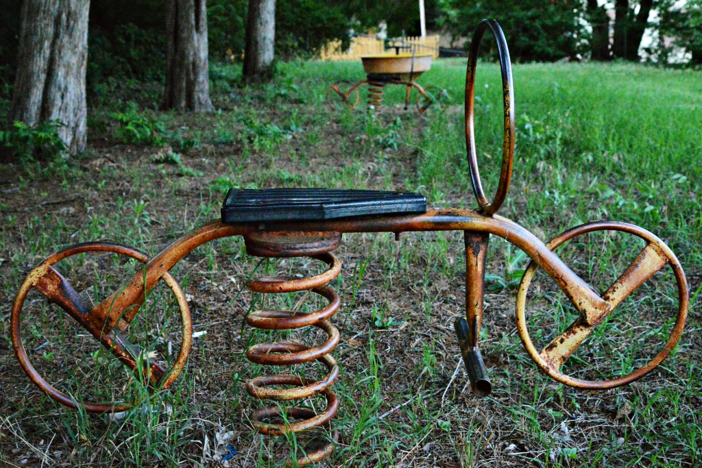 Bike Springer Vintage Playground Equipment