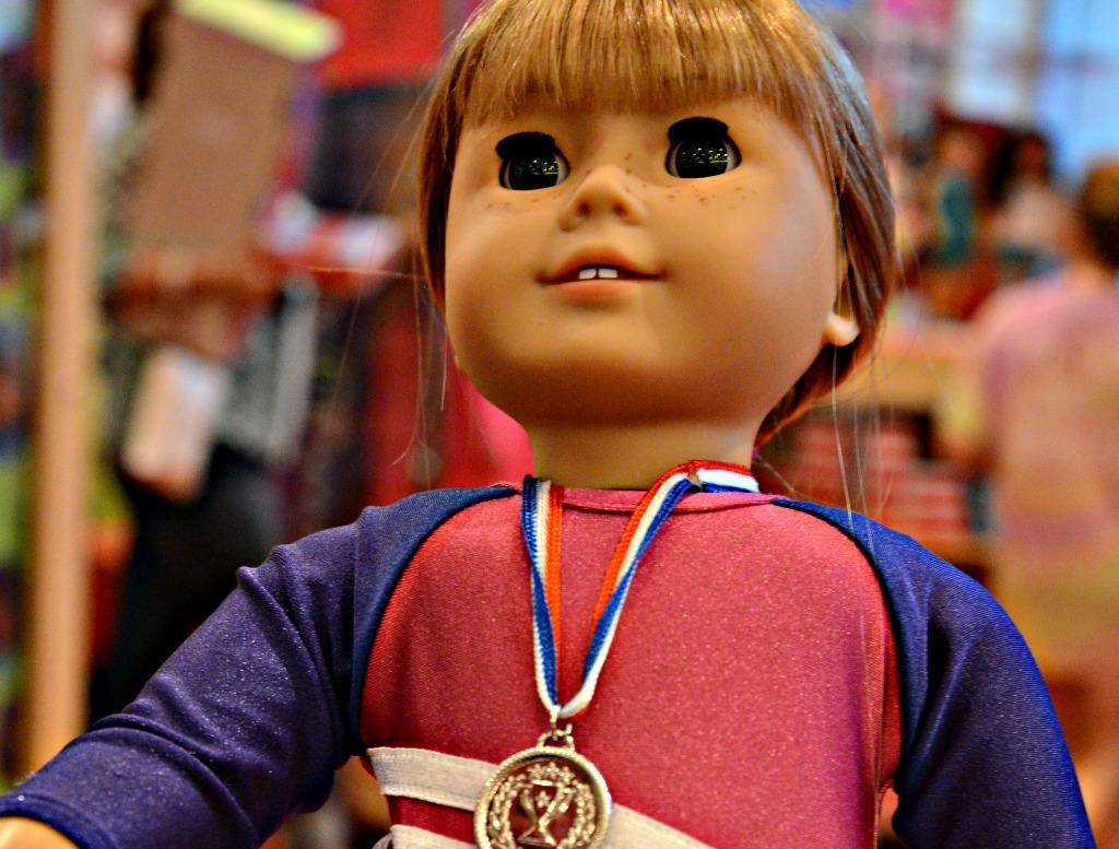 Gymnast, American Girl