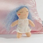 Satin Pillowcase Hairy Fairy Brings Girls Tangle Free Dreams