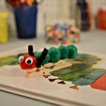 Hungry Caterpillar clothespin
