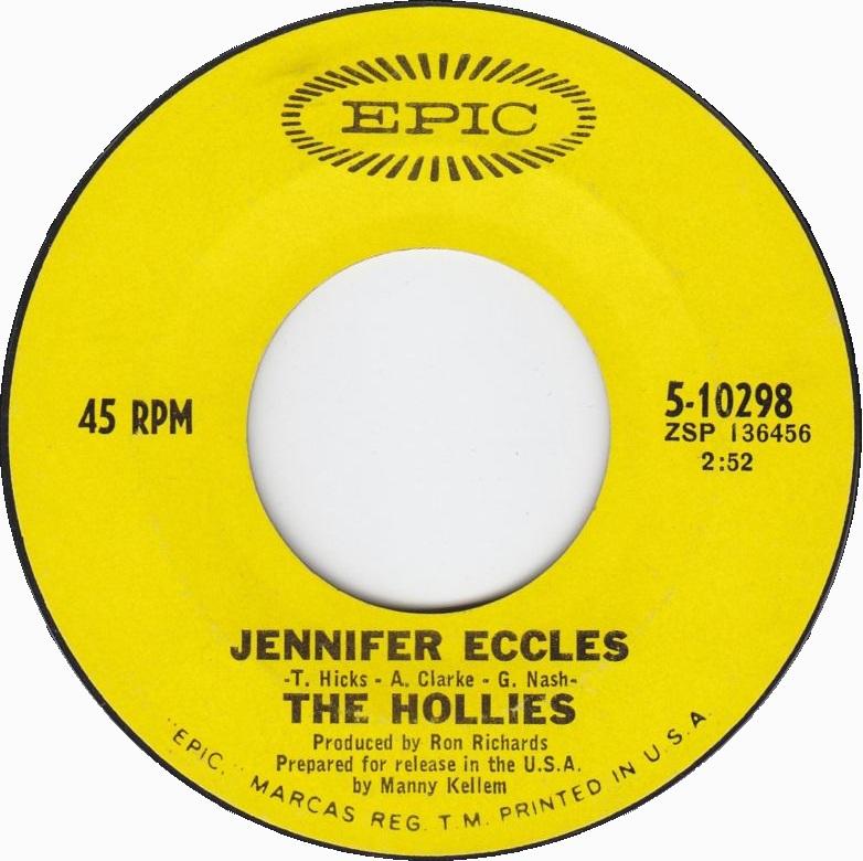 Jennifer Eccles, The Hollies