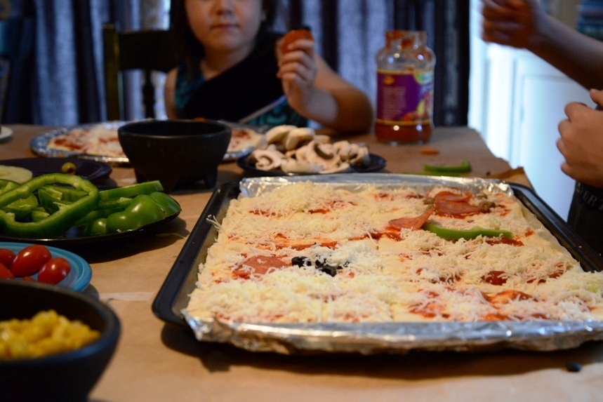 Pizza Quilt Play Date | Are You There, God? It's Me, Generation X.