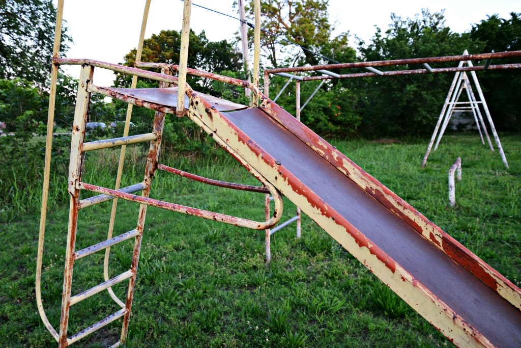 Old Metal Slide