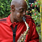 Picture of the Day: Saxophone Player, Dallas West End