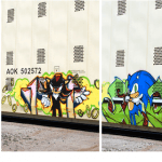 Sonic The Hedgehog Graffiti