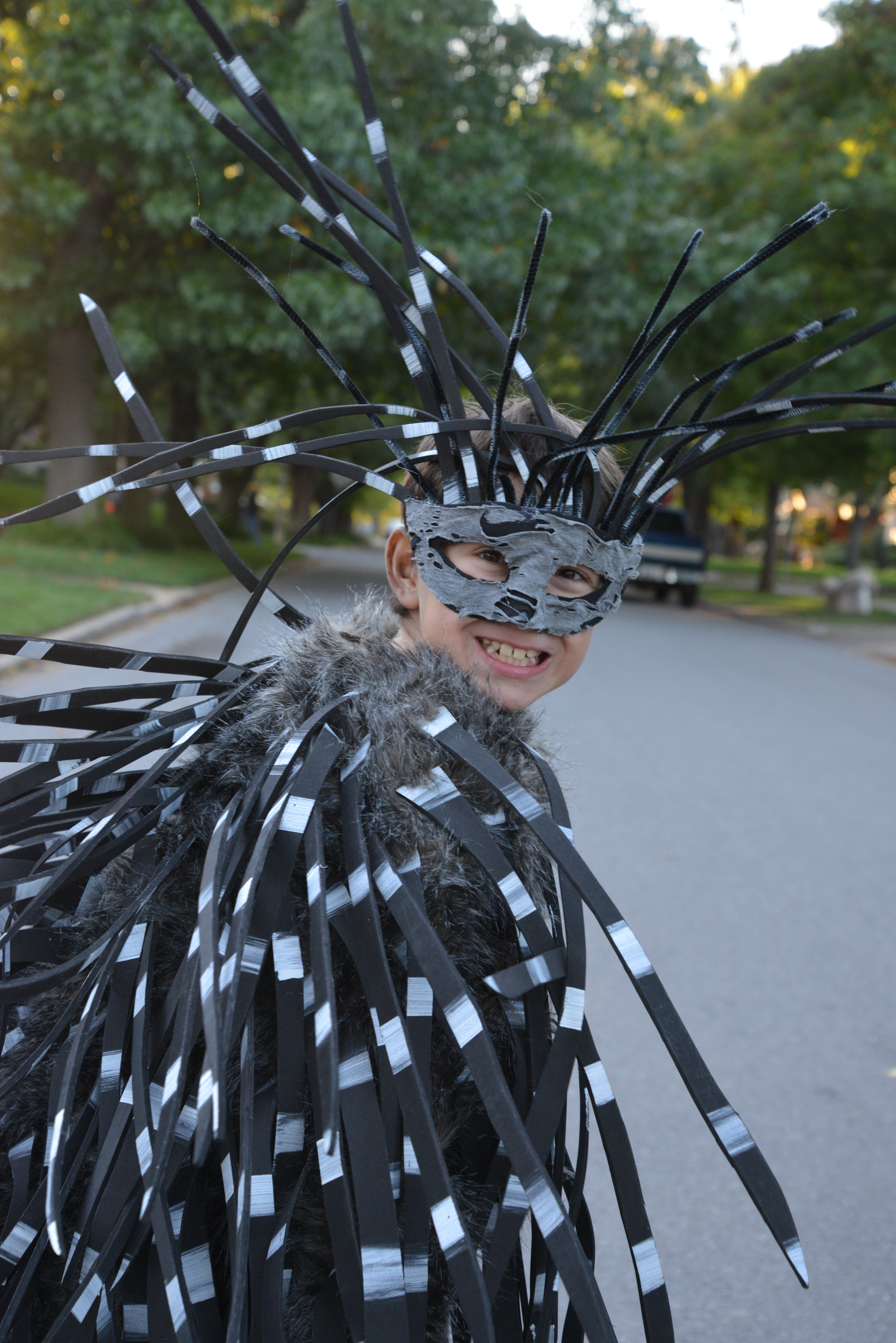 How To make a Porcupine Costume
