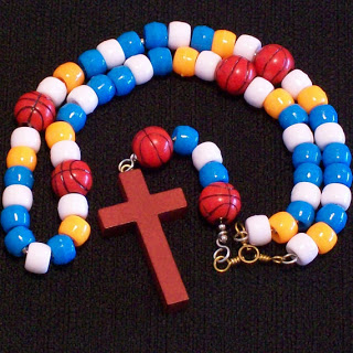 Rosary in Thunder Colors