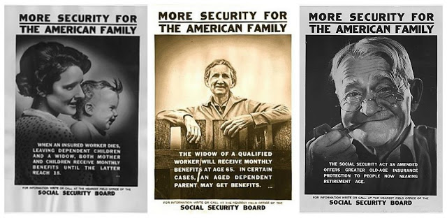 Vintage Social Security Posters