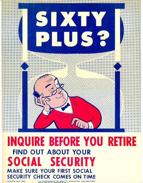 Vintage Social Security Poster