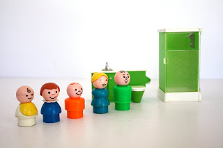 Fisher Price little People Bathroom