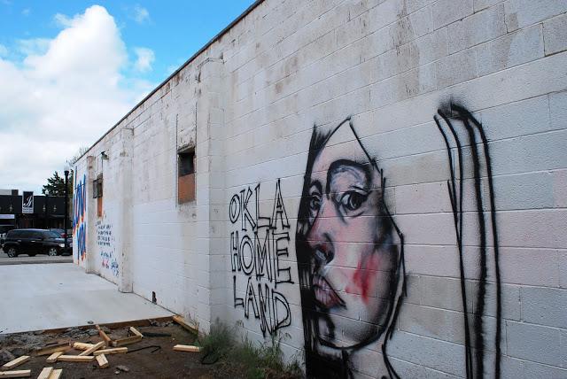 Oklahoma Graffiti in Plaza District