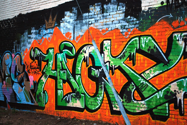 St. Patrick's Day Graffiti Oklahoma City