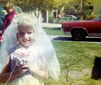 Old First Communion photo from 1971