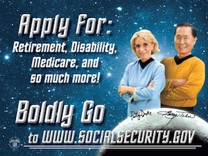 Star Trek Social Security