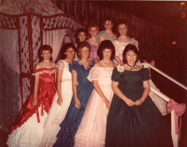 Image result for 1983 prom hoop dress