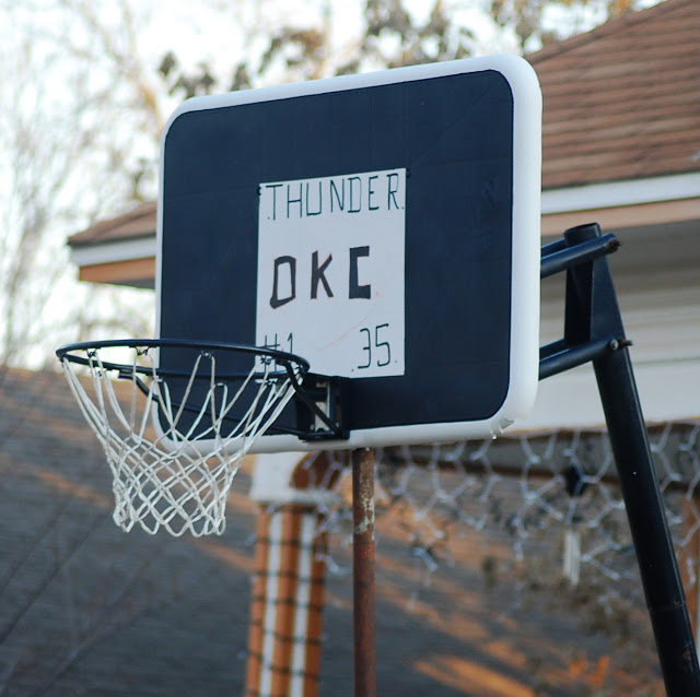 OKC Thunder Basketball Dreams