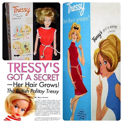 Tressy Doll by Palitoy, 1963