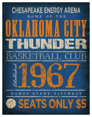 1967 Thunder Poster