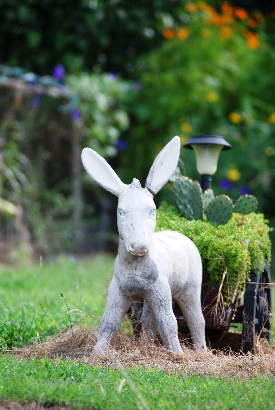 Donkey ornaments - Another Donkey Lawn Ornament