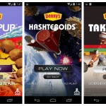 Denny's and Atari Make Hashteroids, Centipups and Take Out