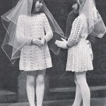 1970s Crocheted Communion Dress