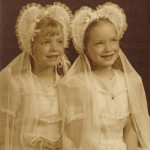 First Communion Twins