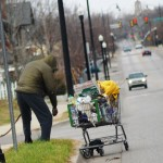 Homeless with a Shopping Cart