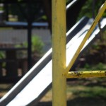 Old Yellow Playground Equipment