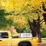 Fall in Oklahoma, Yellow Truck